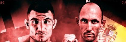 Daniel Requeijo vs Narimani en Cage Warriors